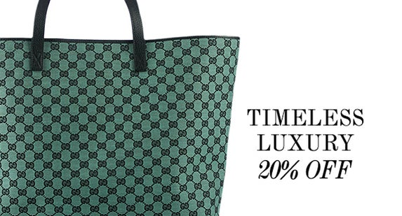 20% Off Timeless Luxury