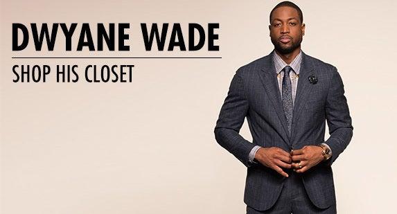 Dwyane Wade: Shop His Closet
