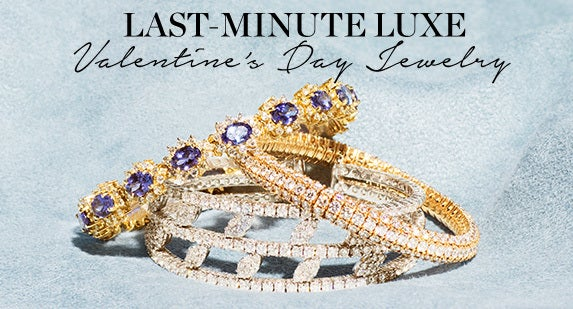 Last-Minute Luxe: Valentine's Day Jewelry