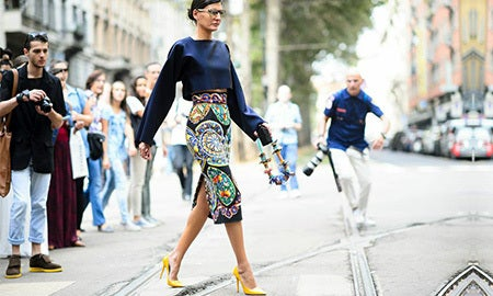 Milan Street Style Star: Giovanna Battaglia