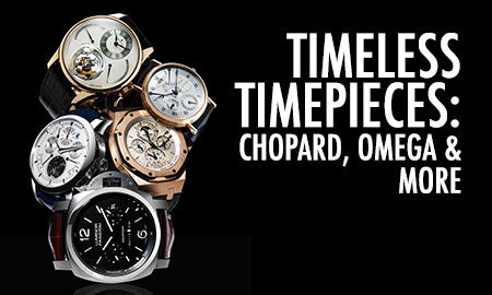 Timeless Timepieces: Chopard, Omega & More
