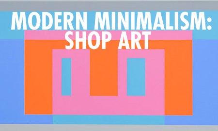 Modern Minimalism: Shop Art