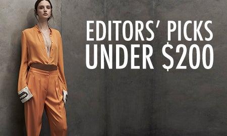 Editors' Picks Under $200