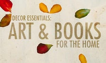 Decor Essentials: Art & Books For The Home