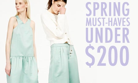 Editors' Spring Must-Haves Under $200