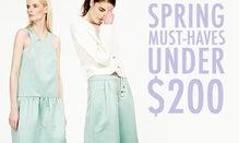 Editors' Spring Must-Haves Under $200