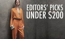 Editors' Picks Under $200