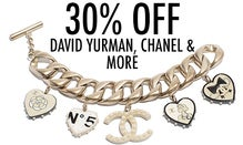 30% Off David Yurman, Chanel & More