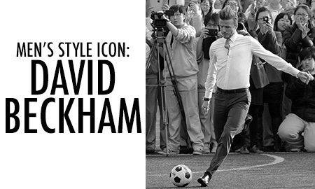 Men's Style Icon: David Beckham