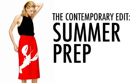 The Contemporary Edit: Summer Prep