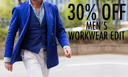 30% Off Men's Workwear Edit