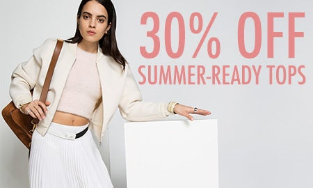 30% Off Summer-Ready Tops