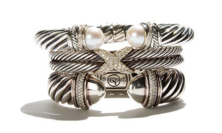 Sleek Silver: David Yurman & More