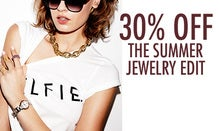 30% Off The Summer Jewelry Edit
