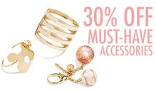 30% Off Must-Have Accessories
