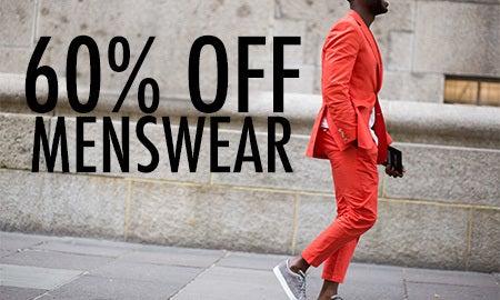 60% Off Menswear