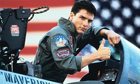 Men's RealReel: Top Gun