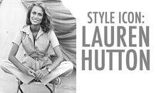 Style Icon: Lauren Hutton