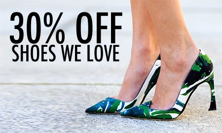30% Off Shoes We Love