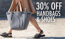 30% Off Handbags & Shoes