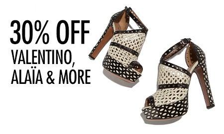 30% Off Valentino, Alaïa & More