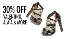 30% Off Valentino, Alaïa & More