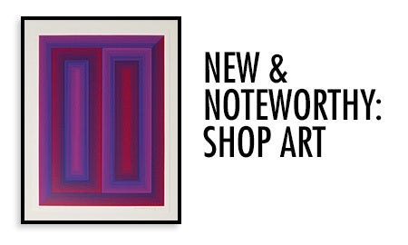 New & Noteworthy: Shop Art