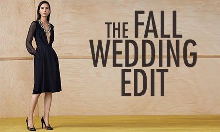 The Fall Wedding Edit
