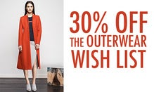 30% Off The Outerwear Wish List