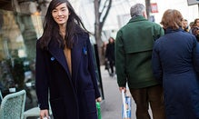 Model Off-Duty: Fei Fei Sun