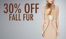 30% Off Fall Fur