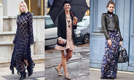 Seen On The Street: Fall Florals
