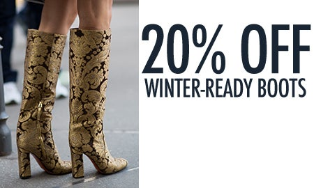 20% Off Winter-Ready Boots