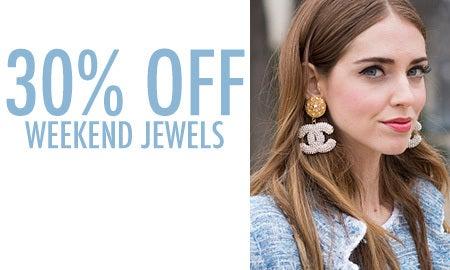 30% Off Weekend Jewels