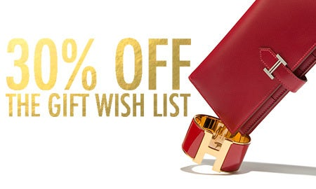 30% Off The Gift Wish List