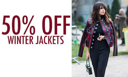 50% Off Winter Jackets