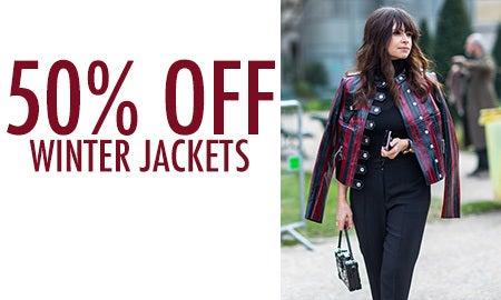 50% Off Winter Jackets