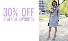 30% Off Real Real Favorites