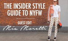 The Insider Style Guide to NYFW