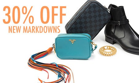 30% Off New Markdowns