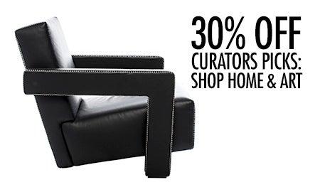 30% Off Curators Picks: Shop Home & Art