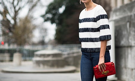 Seen On The Street: The Bold Stripe