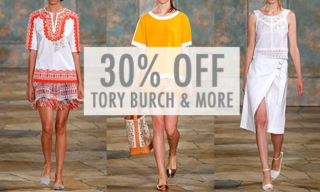 30% Off DVF, Tory Burch & More