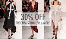 30% Off Peter Pilotto, Proenza Schouler & More