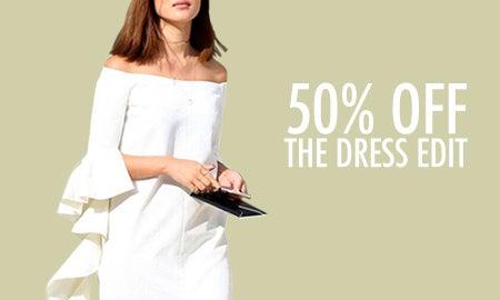 50% Off The Dress Edit