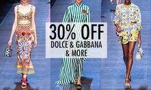 30% Off Dolce & Gabbana, Prada & More
