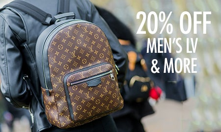 20% Off Men's LV, Gucci & More