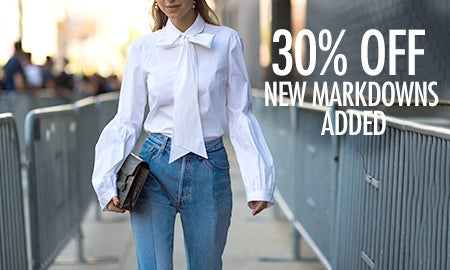 30% Off New Markdowns Added