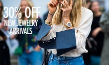 30% Off New Jewelry Arrivals