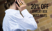 20% Off Jewelry Box Must-Haves